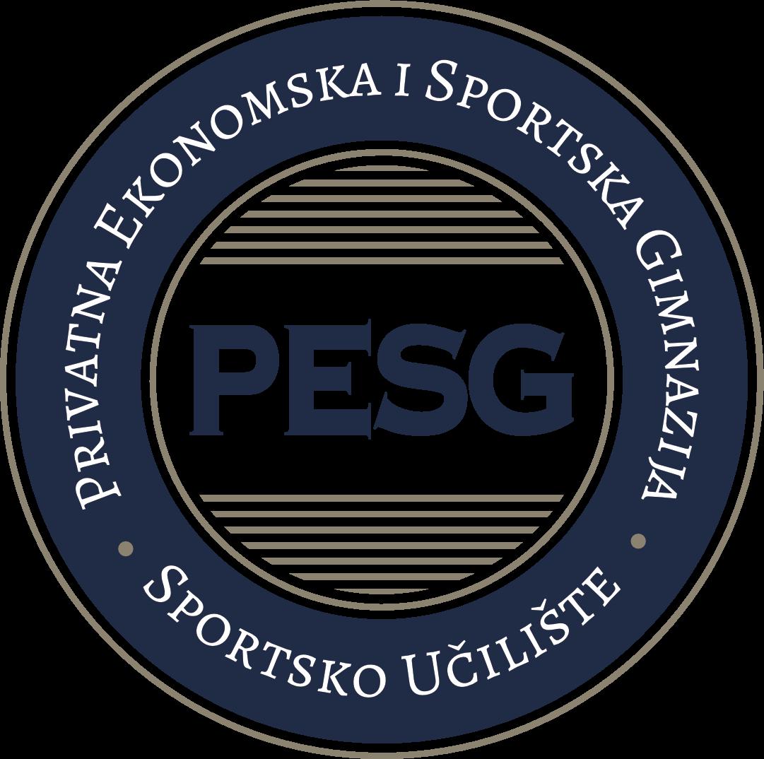 PESG logo plavi